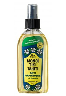 Citronelle scented Mono�, mosquito repellent - Tiki Monoi ANTIMOUSTIQUE 120 ml