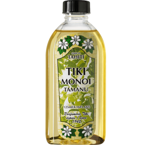 Monoï with Tamanu oil, 100% natural - Tiki Monoi Tamanu 125 ml