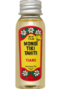 W100% naturalny olejek monoi o zapachu kwiatu tiare - TIKI monoi Tiare 30 ml