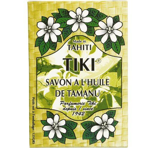 Biljni sapun napravljen sa uljimaTamanu iMonoi de Tahiti - TIKI SAVON TAMANU 130grs