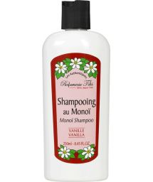 Monoi shampoo, vanilla fragrance, paraben-free - TIKI SHAMPOING MONOI VANILLE 250ml