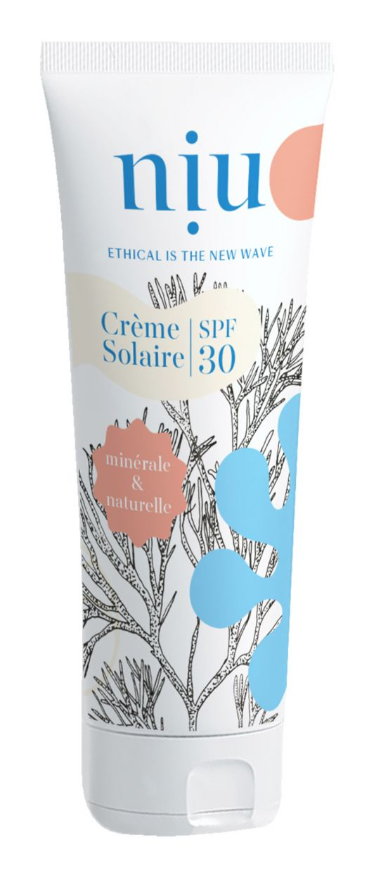 Ecological, vegan and cruel-free SPF30 sunscreen - CREME SOLAIRE SPF30