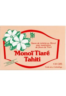 100% vegetable soap made with Monoi de Tahiti and pitaté essence - TIKI SAVON PITATE 130g