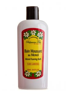 Monoi foaming bath, scented with tiare flowers, 250 ml - BAIN MOUSSANT TIKI TIARÉ 250ML