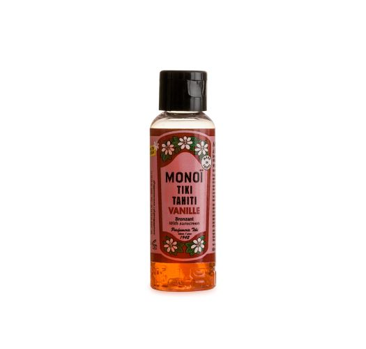 Set of monoï tanning vanila fragrance 120ml and 60ml - DUO BRONZANT VANILLE