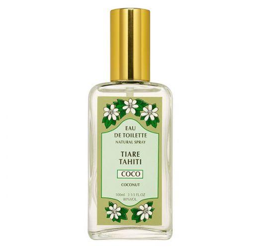 Coconut perfume, glass vaporiser bottle - EAU DE TOILETTE TIKI COCO 100ML