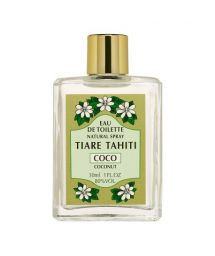 Coconut perfume, glass non-spray bottle - EAU DE TOILETTE TIKI COCO 30ML