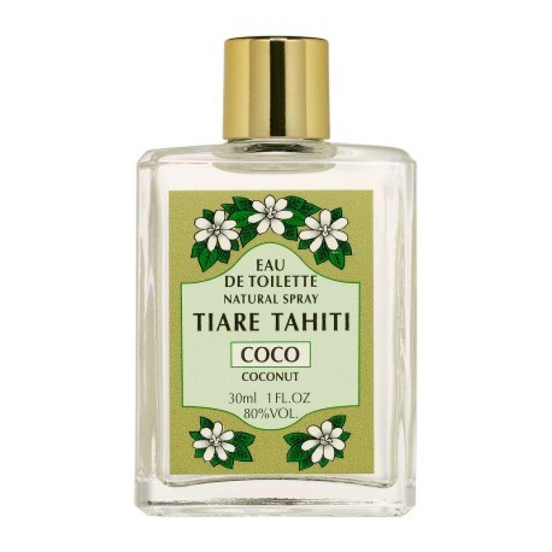 Coconut perfume, glass non-spray bottle - EAU DE TOILETTE TIKI COCO 30ML