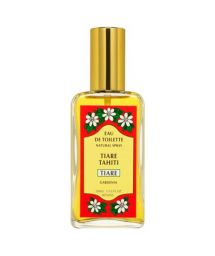 Tiare Fragrance perfume, spray glass bottle - EAU DE TOILETTE TIKI TIARE 100ML