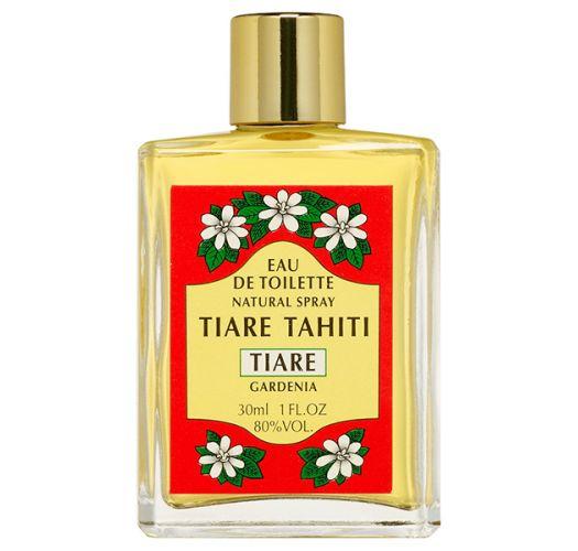 Sprayless Glass Bottle Tiare Fragrance Perfume - EAU DE TOILETTE TIKI TIARE 30ML