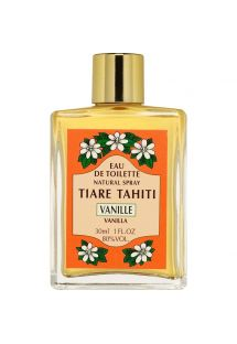 Vanilla perfume, glass non-spray bottle - EAU DE TOILETTE TIKI VANILLE 30ML