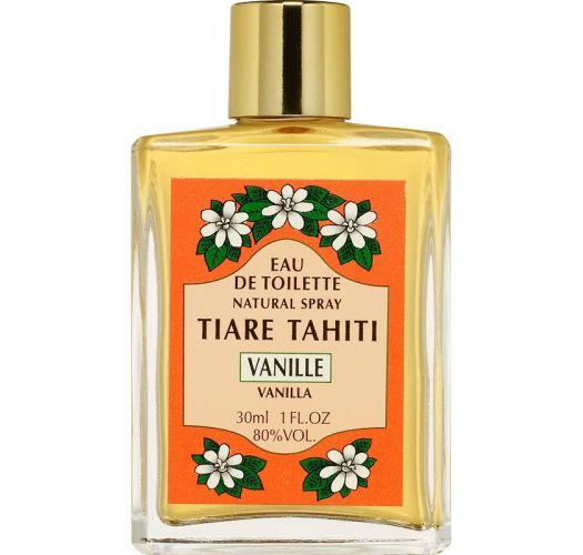 Vanilla perfume, glass non-spray bottle - EAU DE TOILETTE TIKI VANILLE 30ML