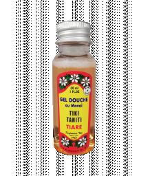 Mini gel douche au monoï parfum tiare - GEL DOUCHE TIKI TIARE 30ML