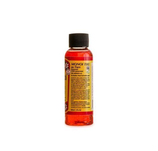 Monoï tiaré oil bronzing travel size - MONOÏ TIKI TIARE SOLAIRE 60ML