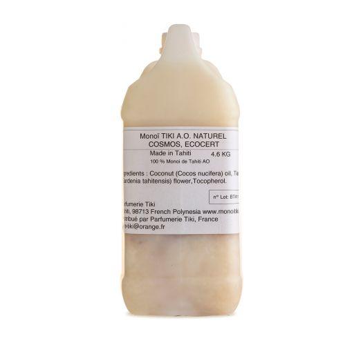 Monoi de Tahiti oil 100% natural 5 L - MONOI TIKI AO 5L