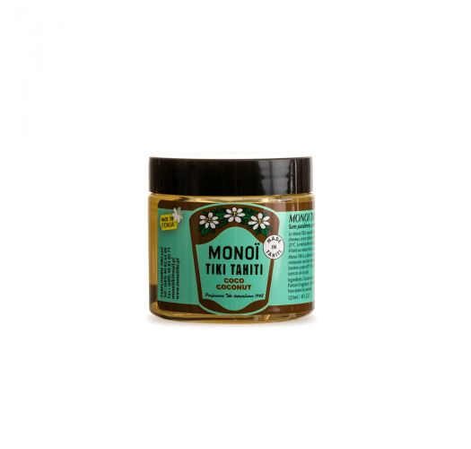 Monoi oil jar 120 ml - coconut - MONOI TIKI COCO POT 120ML