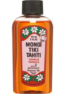 Vanilla scented monoï oil, SPF3 - MONOI TIKI VANILLE 60ML