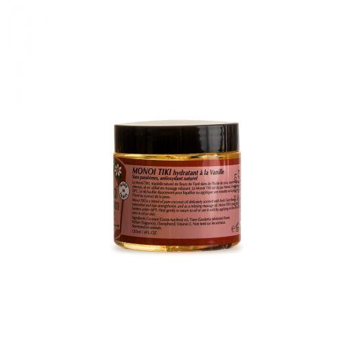 Huile de monoï senteur vanille en pot 120 ml - MONOI TIKI VANILLE POT 120ML