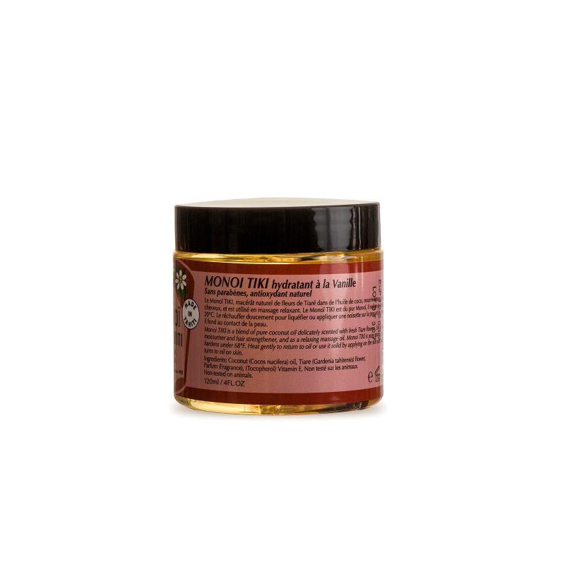 Monoi oil jar 120 ml - vanilla - MONOI TIKI VANILLE POT 120ML