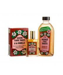 Vanilla perfume set: Monoi, soap and eau de toilette - PACK ALL VANILLE