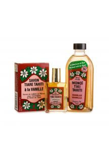 Vanilla perfume set: Monoi, soap and eau de toilette - PACK ALL VANILLE