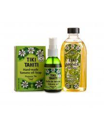 Special tamanu set: monoi, soap and oil spray - PACK MONOI TAMANU