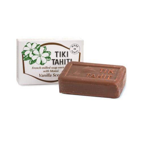 Mydlo obohatené o tahitský vonný olej s vanilkovou vôňou, 130 g - SAVON TIKI VANILLE