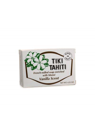 Vanilj doftande tvål berikad med monoi, 130g - SAVON TIKI VANILLE
