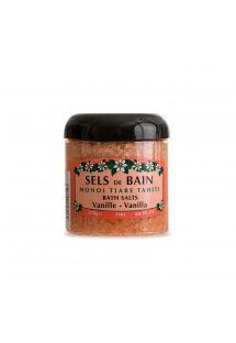 Sol za kupanje s mirisom vanilije i tahićanskog cvijetatiaré - SELS DE BAIN TIKI VANILLE 250g