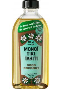 Huile de monoï de tahiti coco - MONOI TIKI COCONUT 120 ML