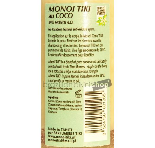 MONOI TIKI COCONUT 120 ML