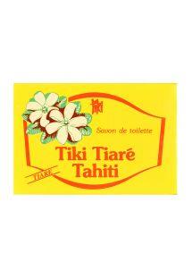 Sabonete com fragância a flor de tiaré e monoi Tahitiano - TIKI SAVON HOTEL 18G