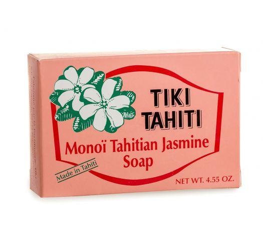100% augu izcelsmes ziepes arMonoi de Tahiti un jasmīnu ekstraktu - TIKI SAVON PITATE 130g