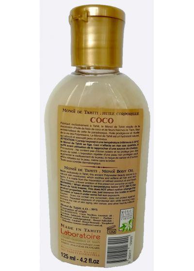 Monoi-olja med kokosdoft - kropp och hår - VAHINE MONOI COCO 125ML