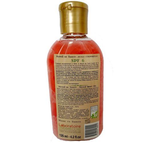 Body oil tiare flower - SPF6 - VAHINE MONOI TIARE SPF6 125ML