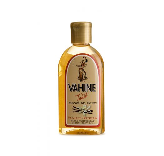 Fugtgivende kropsolie med vaniljeduft - VAHINE MONOI VANILLE 125ML