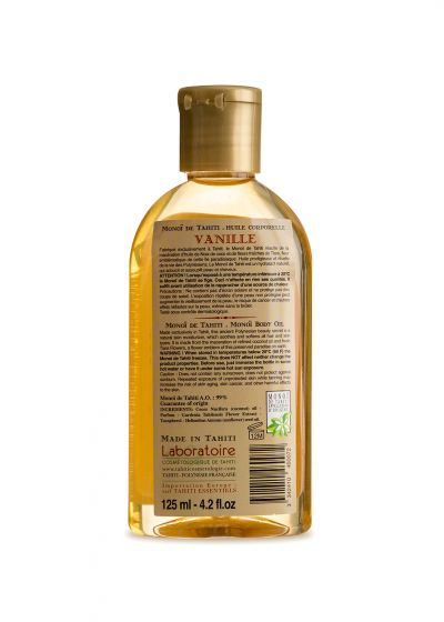 Feuchtigkeitsspendendes Körperöl, Vanilleduft - VAHINE MONOI VANILLE 125ML