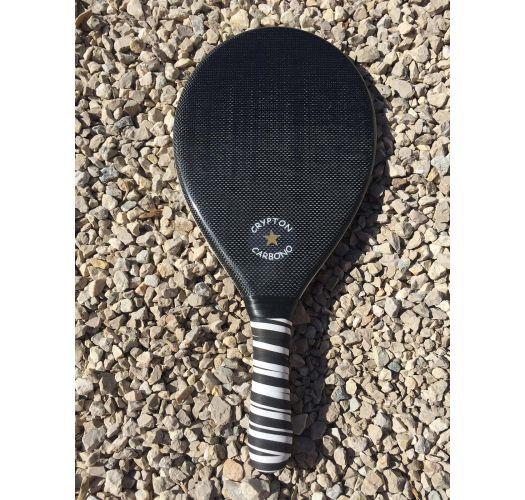 Carbon fiber professional frescobol racket - RAQUETTE FIBRA DE CARBONO