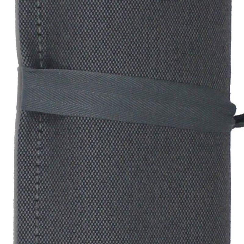 Mörkgrå handduk, 140x70cm - NEO TRANSAT CINZA