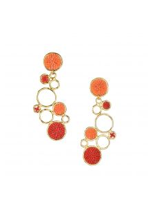 BUBBLE EARRING-GP-L-7817