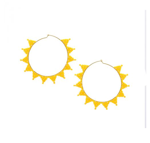 SHOOTING STAR EARRING-GP-M-7635
