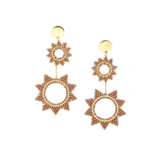SUPER NOVA EARRING-GP-L-7729