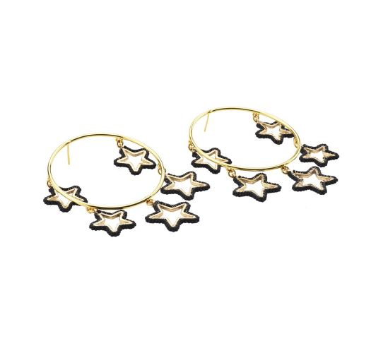 Night Earring GP XL 6053