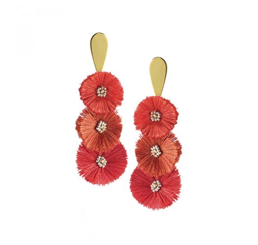 PUFFY EARRING-GP-M-7390
