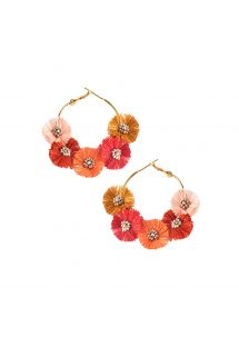 STARRY SUN EARRING-GP-M-7102