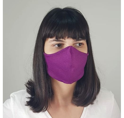 Purple pink barrier mask UPF50+ - FACE MASK BBS36 UPF50+