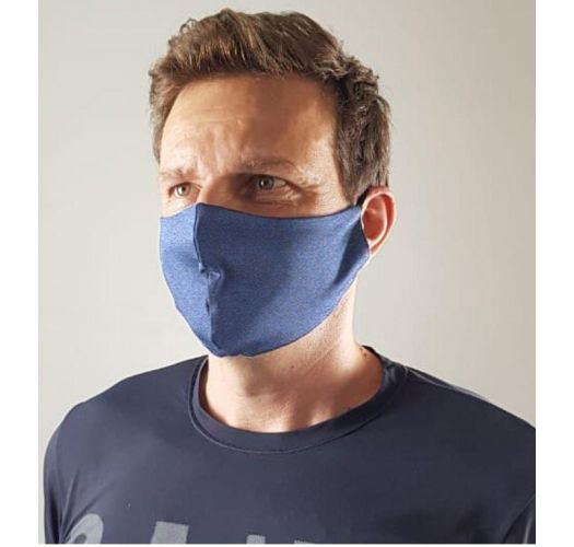 Purple blue barrier mask UPF50+ - FACE MASK BBS38 UPF50+