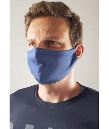 Masque anti-projection bleu violet UPF50+ - FACE MASK BBS38 UPF50+