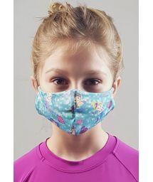 Masque anti-projection enfant motif sirènes - FACE MASK BBS40 UPF50+