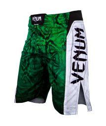 Green snake print MMA fight shorts - AMAZONIA 5 GREEN